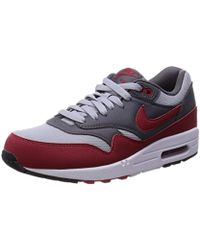 Air Max 1 Essential Running Shoes Red