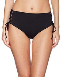RACHEL Rachel Roy - Swim Bottom Hight Waisted Side Laced - Lyst