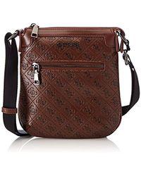 Guess - Bags Crossbody, 's Shoulder Bag, Brown (tobacco), 2.5x22.5x21 Cm (w X H L) - Lyst