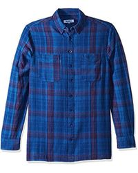 William Rast - Bo Long Sleeve Button Down Shirt - Lyst