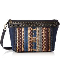 Desigual - Sac Catania silverly Multicolore - Lyst