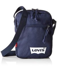Levi's - Basic Mini Cross-body Solid (w White Batwing) Shoulder Bag - Lyst