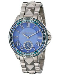 Vince Camuto - Vc/5160lbsv Swarovski Crystal Accented Silver-tone Bracelet Watch - Lyst