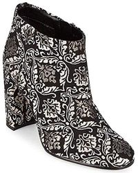 50ec72037a9c7 Sam Edelman -  cambell  Floral Damask Ankle Boots - Lyst