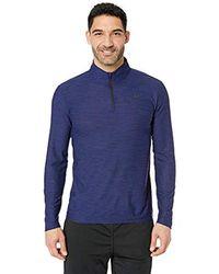 Nike - Breathe Dry Quarter Zip Long Sleeve Shirt - Lyst