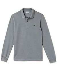 2fcf9e51b Lacoste Long Sleeve Classic Pique L.12.12 Original Fit Polo Shirt in ...