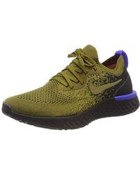 2f4ea911b6cc Nike Epic React Flyknit 2 Running Shoe in Metallic for Men - Lyst