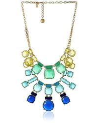 Kate Spade - Cause A Stir Statement Necklace - Lyst
