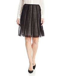 NIC+ZOE - Batiste Skirt - Lyst