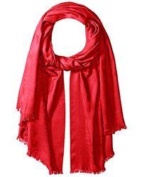 Pendleton - Lightweight Luxe Weave Wool Scarf - Lyst
