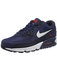 902eda06a7 Nike Air Max 90 Essential Gymnastics Shoes in Green for Men - Save ...