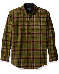 Pendleton - Long Sleeve Button Front Fitted Fireside Shirt - Lyst