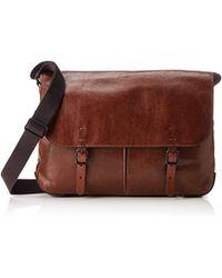 34f9b6f6e7 Fossil Herrentasche ? Buckner Ns City Bag Wallet in Brown for Men - Lyst