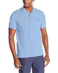 Izod - Short-sleeve Newport Oxford Solid Pique Polo Shirt - Lyst