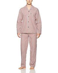 Ben Sherman - Poplin Pyjama Set-bsm1216us - Lyst