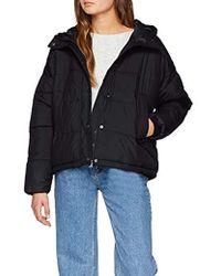 Vero Moda - Vmscarf Puffer Short Jacket Ki - Lyst