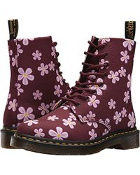 Dr. Martens - Page Meadow 8-eye Boot - Lyst