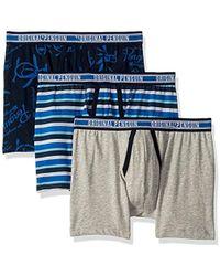 4502cdbf3de4 Original Penguin Striped Boxer Brief in Blue for Men - Lyst
