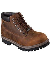 Skechers - Sergeants-verdict Warm Lining Chelsea Boots - Lyst