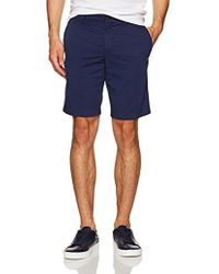 Lacoste - Garment Dyed All-over Print Bermuda-slim Ft - Lyst