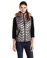 CALVIN KLEIN 205W39NYC - Performance Down-filled Chevron Quilted Vest - Lyst