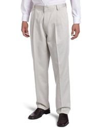 Dockers - Never-iron Essential Khaki Classic Pleated-front Pant - Lyst