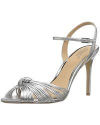 Badgley Mischka - Jewel Lady Heeled Sandal - Lyst