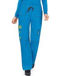 Dickies - Petite Scrubs Gen Flex Contemporary Fit Contrast Stitch Cargo Pant - Lyst
