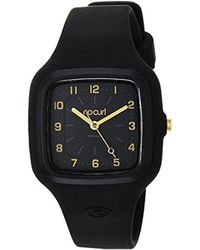 Rip Curl - 'candy' Quartz Plastic And Silicone Sport Watch, Color Black (model: A3089g-blk) - Lyst