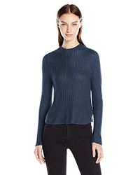 American Apparel - Aslan Long Sleeve Pullover Sweater - Lyst