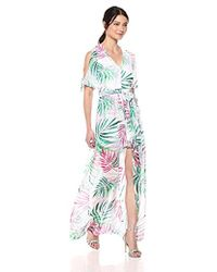Kensie - Tropical Print Walk Through - Lyst