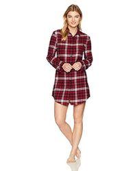 Emporio Armani - Flannel Night Dress - Lyst