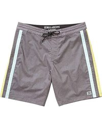 850f9cda03 Billabong All Day Lo Tide Overdye Boardshort for Men - Lyst