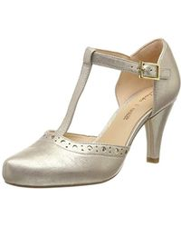 Clarks - Dalia Leah T-bar Court Shoes - Lyst