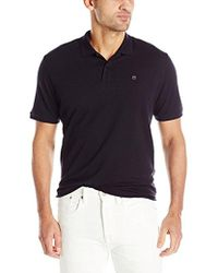 Victorinox - Vx Stretch Pique Polo, Navy, Small - Lyst