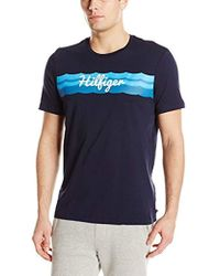 Tommy Hilfiger - Graphic Short Sleeve Tee - Lyst