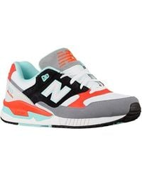 New Balance 530 Leather Textile Low-top Trainers - White
