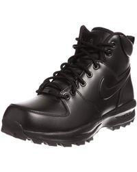 36f71ba0be442 Nike Zoom Kynsi Jacquard Waterproof Boots in Black for Men - Lyst