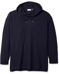 Lacoste - Long Sleeve Athleisure Petit Pique Hoodie Polo, Ph3206 - Lyst