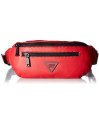 Guess - Urban Sport Savoy Belt Bag, Red - Lyst