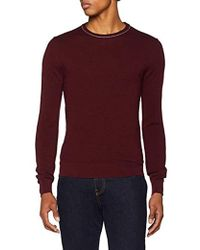 Hackett - 's Textured Crew Jumper - Lyst