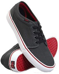 0b1754e5ca Lyst - Vans The 106 Vulcanized Sneaker in Port Royale Black in ...