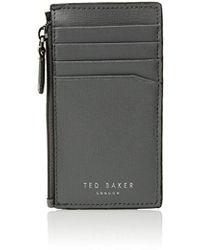 Ted Baker - Corner Detail Zip Card Holder - Lyst