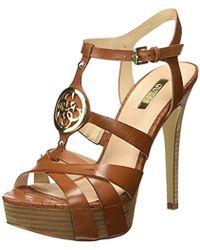 Guess - Lea03 T-bar Heels - Lyst
