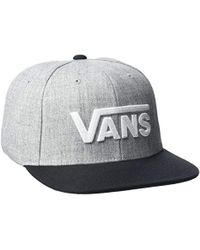 a8d6626ff46d8d Vans Shaper Gang Trucker Cap in White for Men - Lyst
