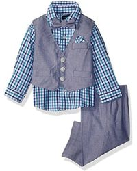 Nautica - Baby Boys' Set With Vest, Pant, Shirt, And Bow Tie - Lyst