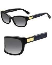 57ffa66b29b9a Lyst - Kate Spade Marilee 53mm Polarized Sunglasses in Brown
