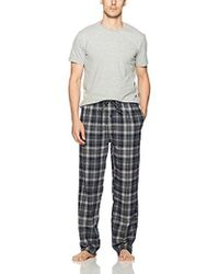 Ben Sherman - Tee And Flannel Set - Lyst
