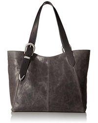 Frye - Jacqui Shoulder Leather Tote Bag - Lyst