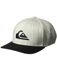 new style 47a3b 0e54a Quiksilver - Mountain And Wave Hat - Lyst